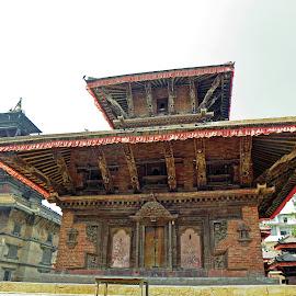 Temple in Kathmandu by Jaliya Rasaputra - Buildings & Architecture Public & Historical
