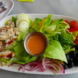 Crab Louie Salad by Rita Goebert - Food & Drink Plated Food ( san francisco; fisherman's wharf; the franciscan; crab louie salad; )
