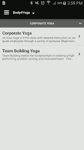 Body4Yoga - screenshot