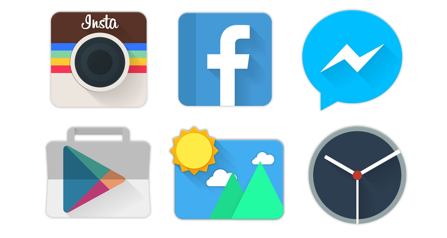 Spring - Icon Pack Screenshot 1