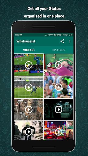 WhatsAssist - Status Saver for WhatsApp screenshot 1