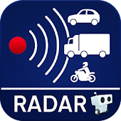 10.  Radarbot Free: Speed Camera Detector & Speedometer