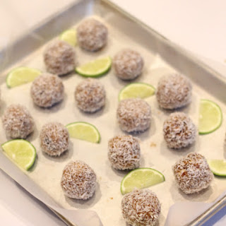 Coconut Lime Snack Balls