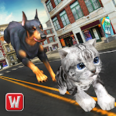 Free Download Dog vs Cat Survival Fight Game APK for Samsung