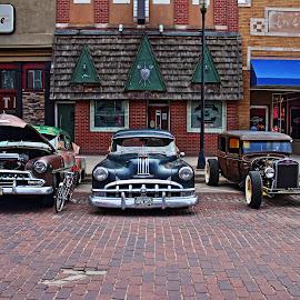 car show 2016 by Rita Flohr - City,  Street & Park  Street Scenes ( car, vintage, classic )
