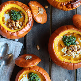 Roasted Garlic Pumpkin Soup Recipes