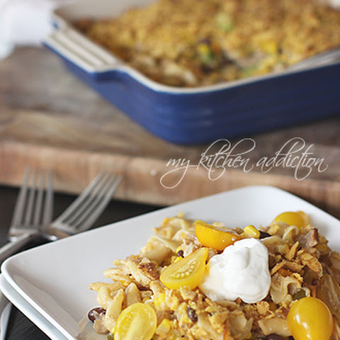 Southwest Chicken Noodle Casserole