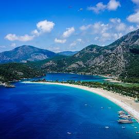 okudeniz by Haddouchi Tarik - Landscapes Waterscapes ( oludeniz, waterscape, beach, turkey, landscape )
