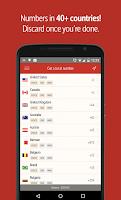 Screenshot of Hushed – Number, Texting, Pics