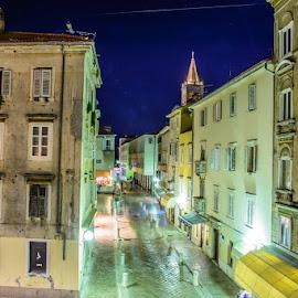 by Matej Štegar - City,  Street & Park  Night
