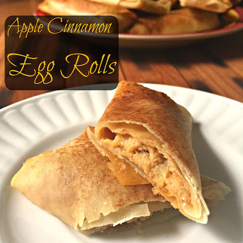 Cinnamon Apple Egg Rolls