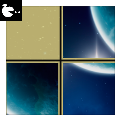 Space slide puzzle for adults (game)