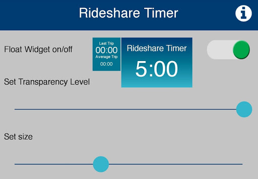Rideshare Timer - screenshot