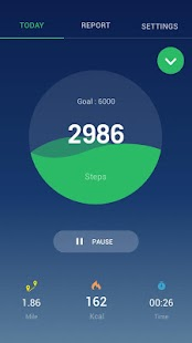 Step Counter - Pedometer Free & Calorie Counter Fitness app screenshot for Android