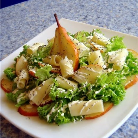 Pear And Cheese Salad