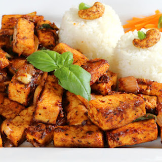 Spicy Tofu With Basil Recipes