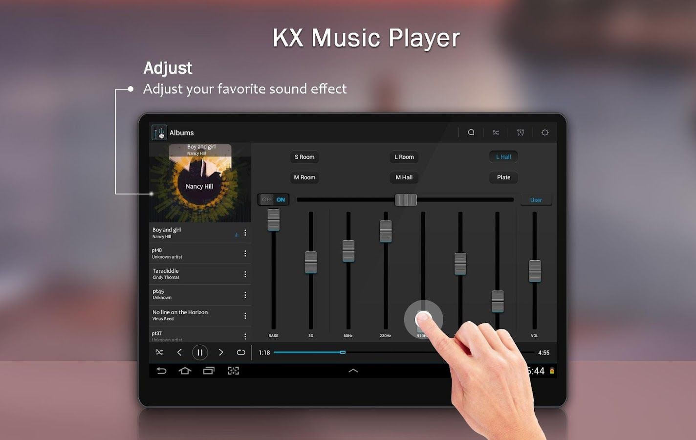 KX Music Player Pro Screenshot 5