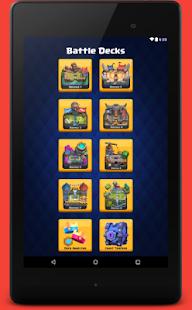 App Battle Deck for Clash Royale APK for Kindle
