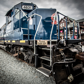 Engine 4631 by Liam Douglas - Transportation Trains ( railway, engine, railroad, outdoors, power, train, pulling, trains )