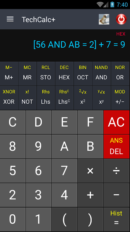 Scientific Calculator (adfree) Screenshot 3