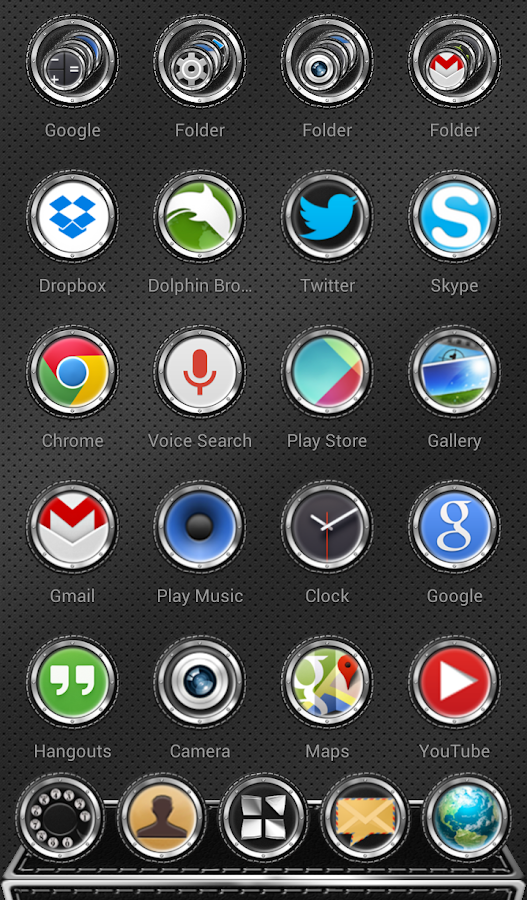 Next Launcher 3D Theme Bespoke Screenshot 2