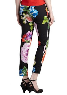 Floral Ladies Trousers - screenshot