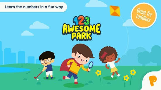 123 Awesome Park – Numbers