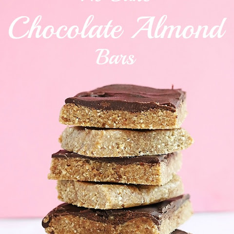 No Bake Chocolate Almond Bars