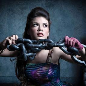 Let Me Free by Aji Patria - People Portraits of Women