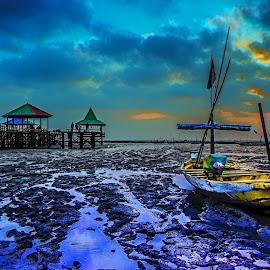 Kenjeran Beach by Surya Forty-Six - Transportation Boats