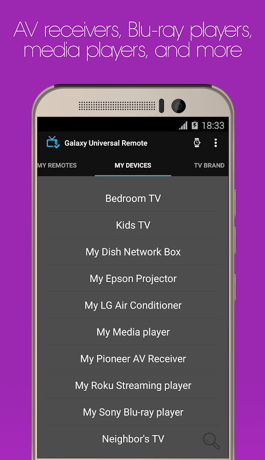 Galaxy Universal Remote Screenshot 4