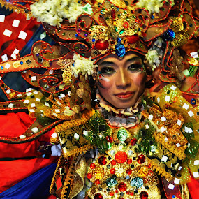Jember Festival by Ari Wibowo - People Fashion ( potrait, fashion, jember festival, indonesia, body art )