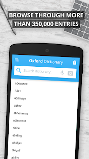 App Oxford Dictionary of English APK for Kindle