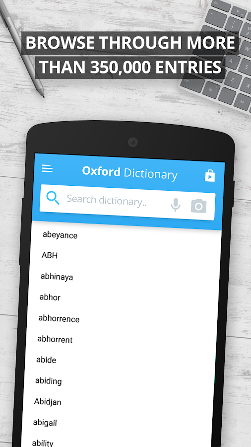 Oxford Dictionary of English Screenshot 7