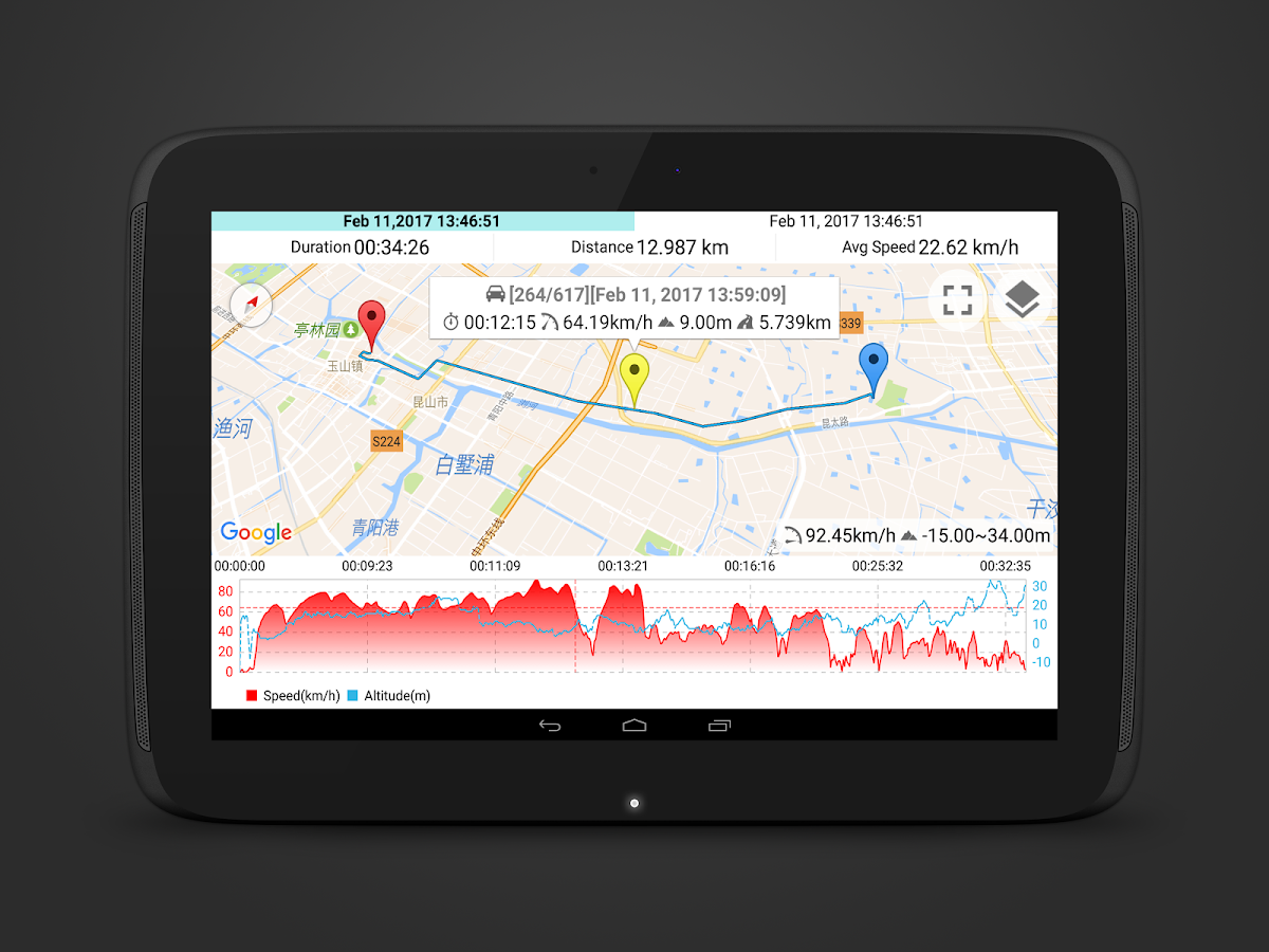Speedometer GPS Pro Screenshot 9