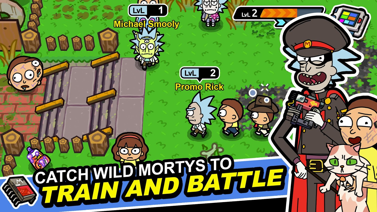 Pocket Mortys Screenshot 10