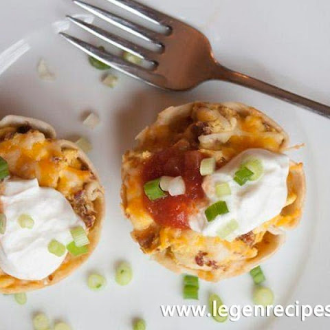 Bacon Breakfast Burrito Bites