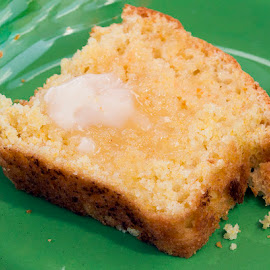 How the cornbread crumbles by JERry RYan - Food & Drink Cooking & Baking