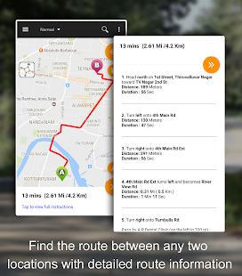 Driving Route Finder APK for Bluestacks