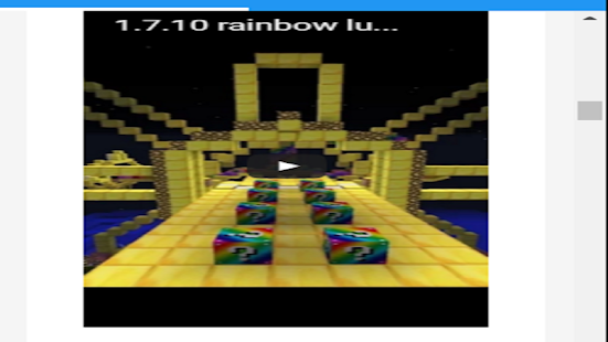 Rainbow Lucky Block Mod - screenshot