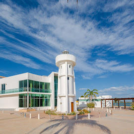 Isla Arena Lighthouse by Alan Potter - Buildings & Architecture Other Exteriors