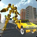 Hummer Transform Robot Fight