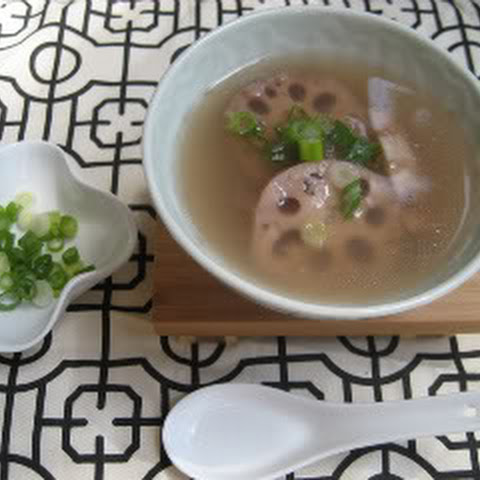 Chinese Lotus Root Soup