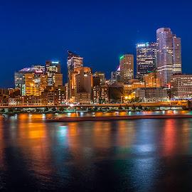 by Jeff London - City,  Street & Park  Skylines