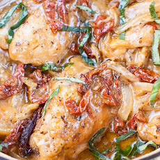 Clean Eating Creamy Sun-dried Tomato Chicken