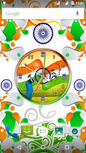 India Clock Live Wallpaper - screenshot