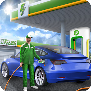 Download Simulator Electric Gas Station For PC Windows and Mac