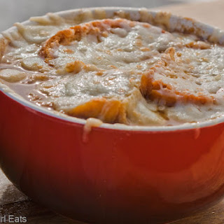 French Onion Soup Gratine