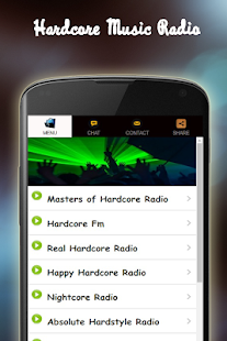 Hardcore Music Radio - screenshot