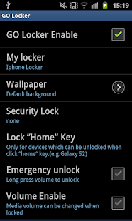 Neon Pink Golocker Theme - screenshot